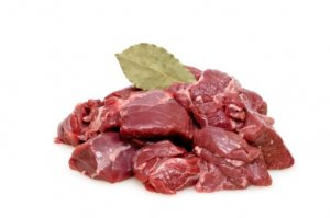 Mięso gulaszowe z sarny